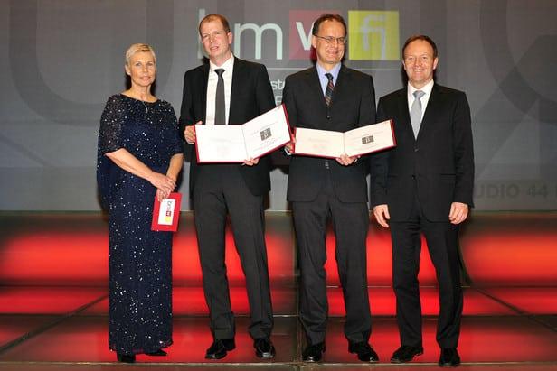 Verleihung des Staatspreises