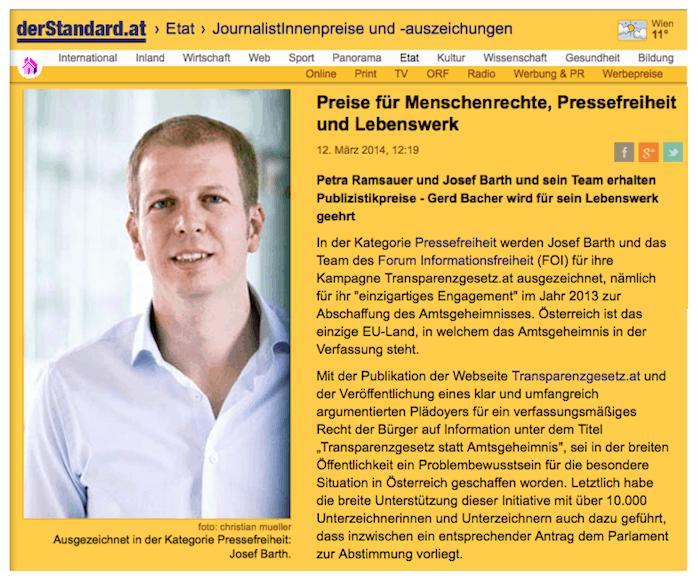 Concordia-Preis Standard-Artikel