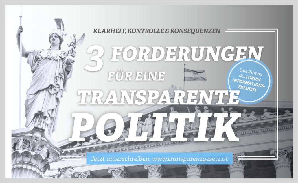 Kampagne Transparenzgesetz 2019